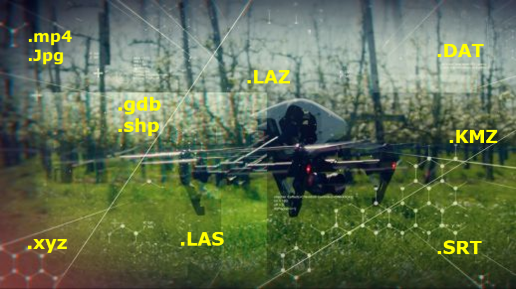 drone data management software