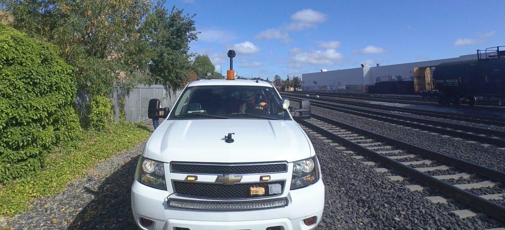 HiRail GPS camera